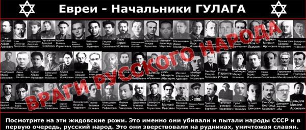 Кем были комиссары и палачи русского народа