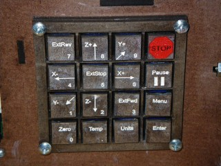 Fabber Keypad