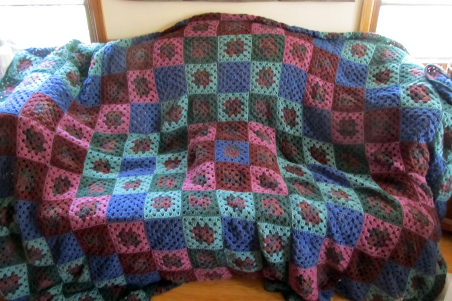 afghan couch