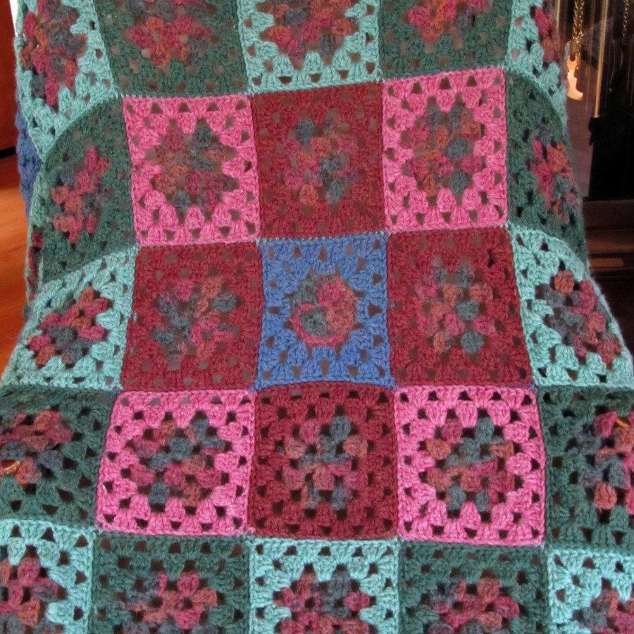 afghan chair