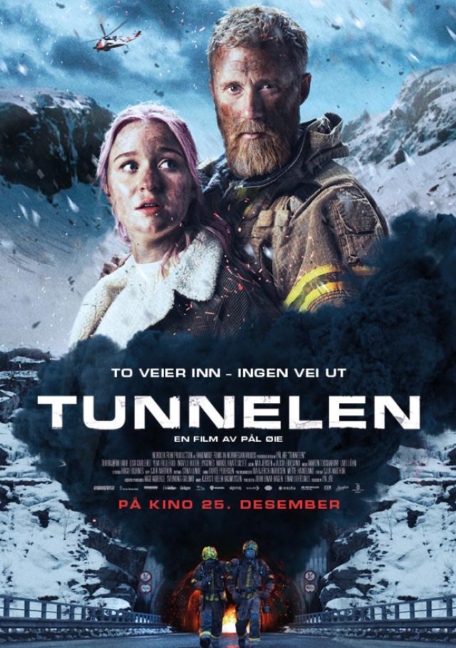Туннель: Опасно для жизни / Tunnelen / 2019 / ДБ / HDRip