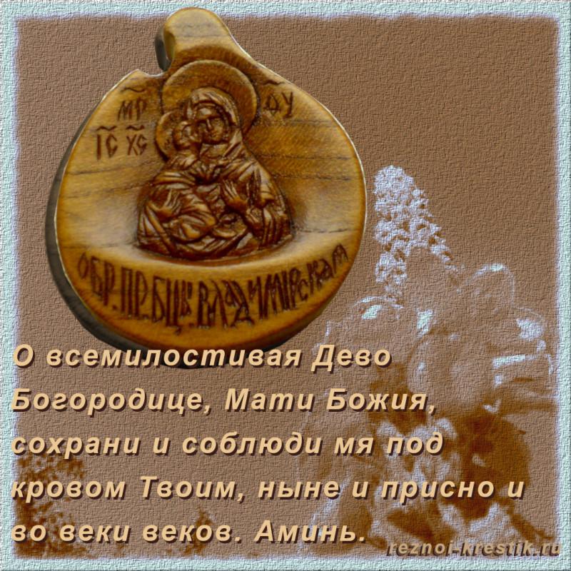 Образ Владимирской иконы Божией Матери
