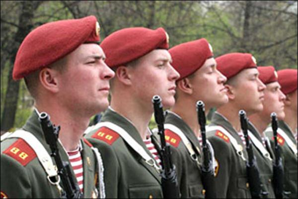 День внутренних войск МВД 2