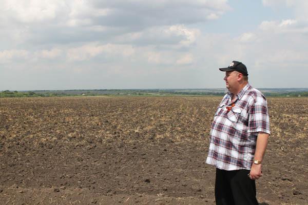 Танковое поле на Прохоровке