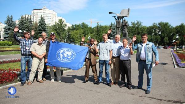 Коллективное фото участников и организаторов