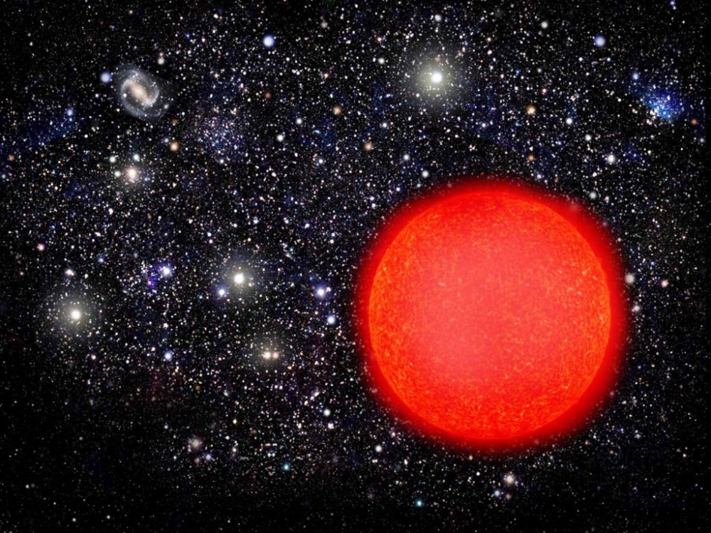 red giant star - HD1024×768