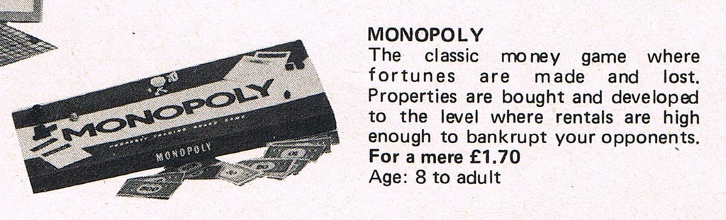 1972 British magazine advert