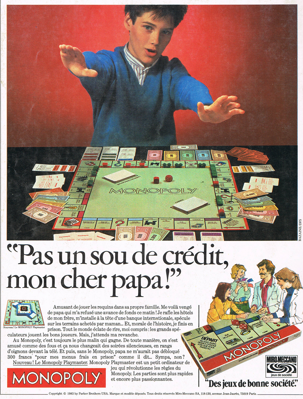 1983 magazine advert