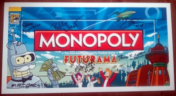 Comic Con 2011 Futruama Exclusive