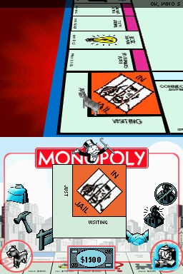 Monopoly version for the Nintendo DS