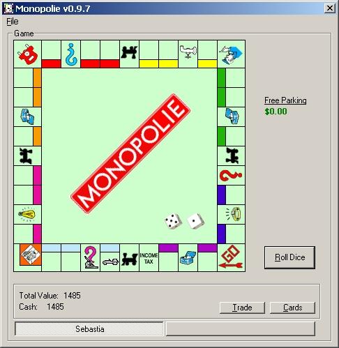 Opensource Monopoly Clone AI