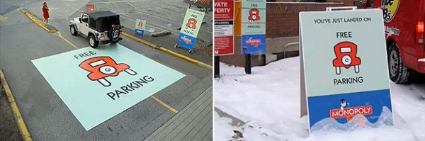 Free Parking in the City