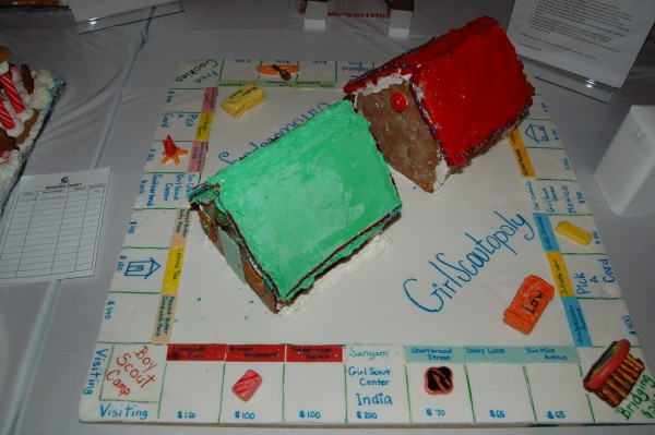 Gingerbread Monopoly