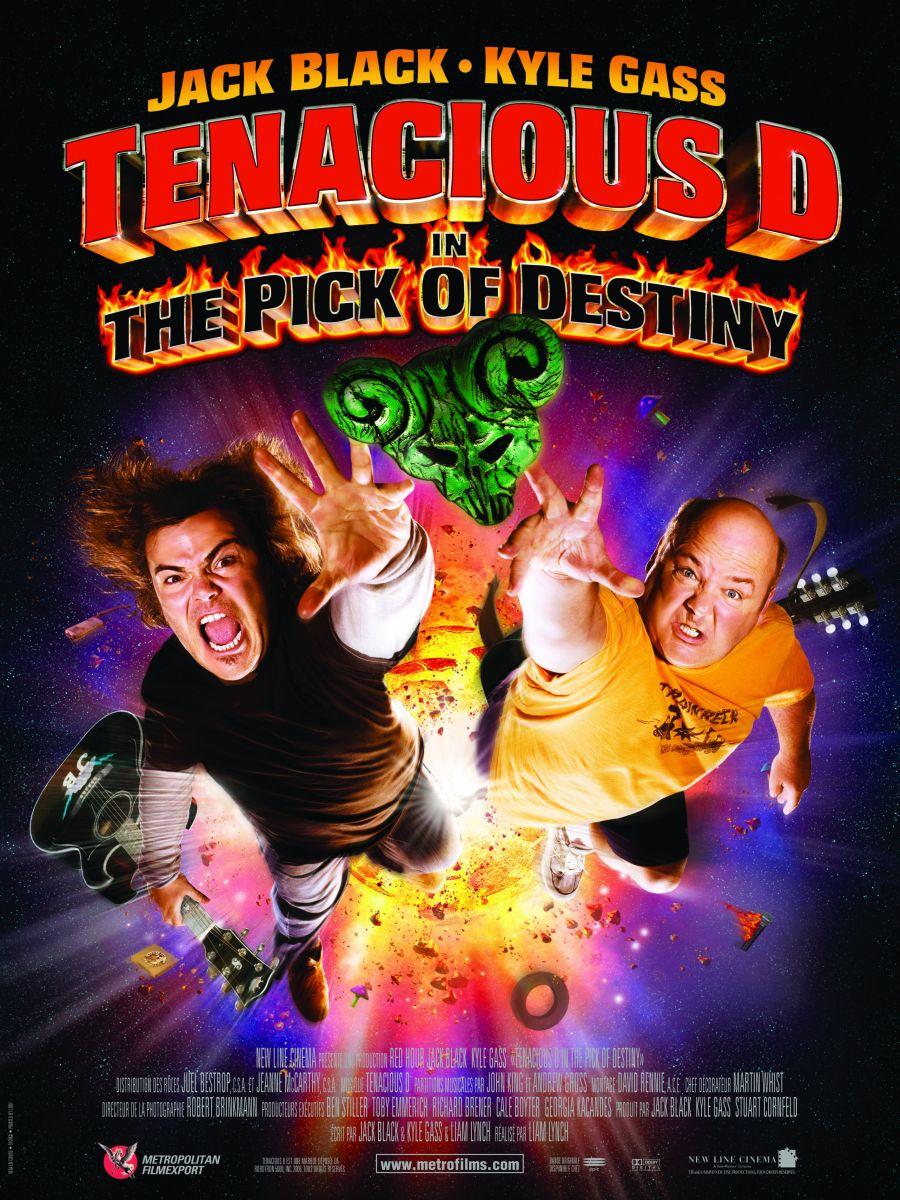 Tenacious d медиатор судьбы  definition of tenacious