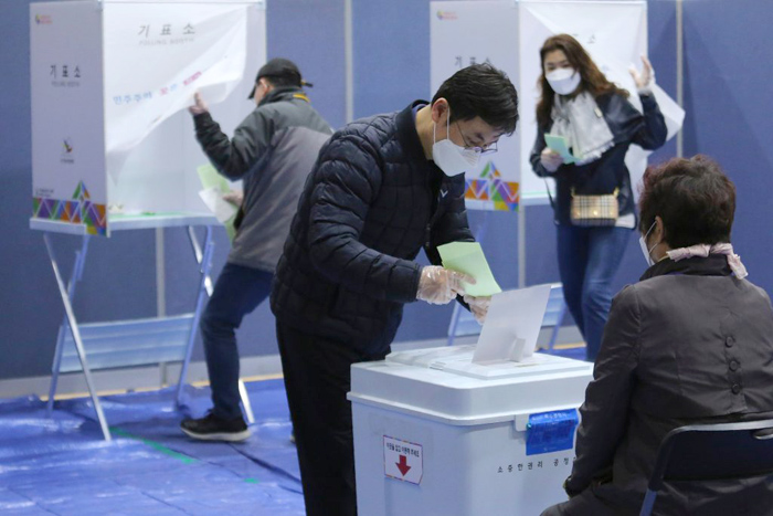 Парламентские выборы в Южной Корее 15 апреля 2020 года
