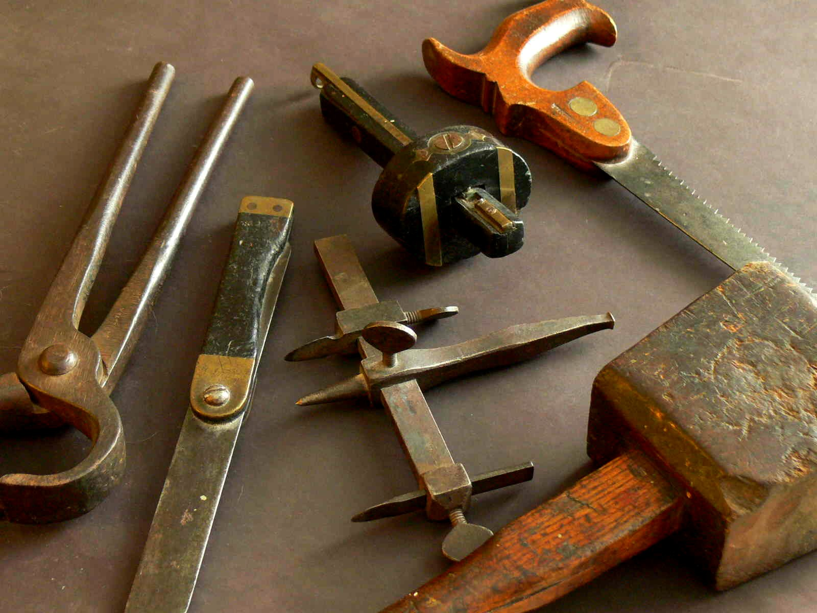 Old tools and the history and associations they conjure up fascinate ...