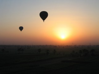 Sunrise from the Balloon