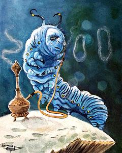 The Caterpillar, by Tom Carlton