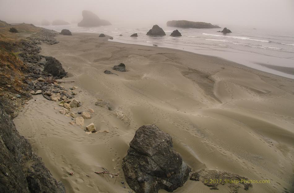 Орегон. Туман