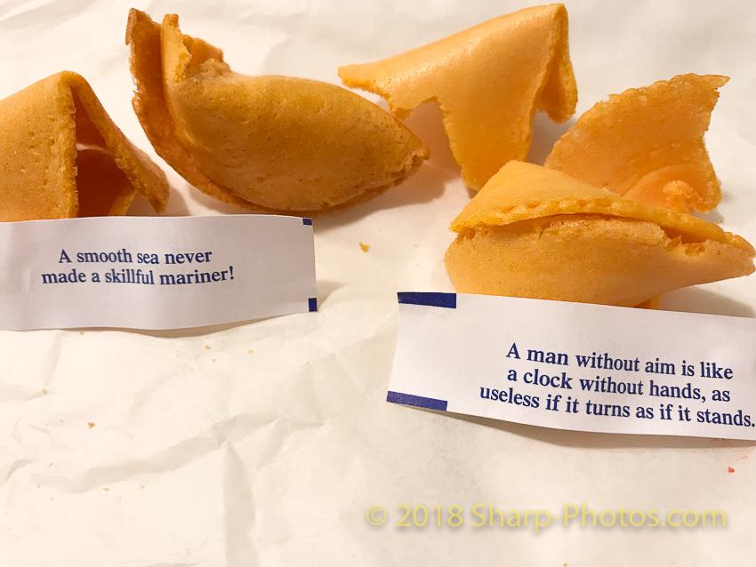 Китайское печенье предсказаний