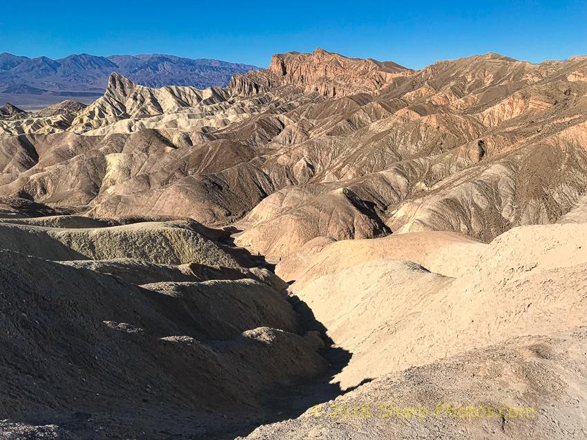 Декабрьская поездка в Долину Смерти. Несколько фото