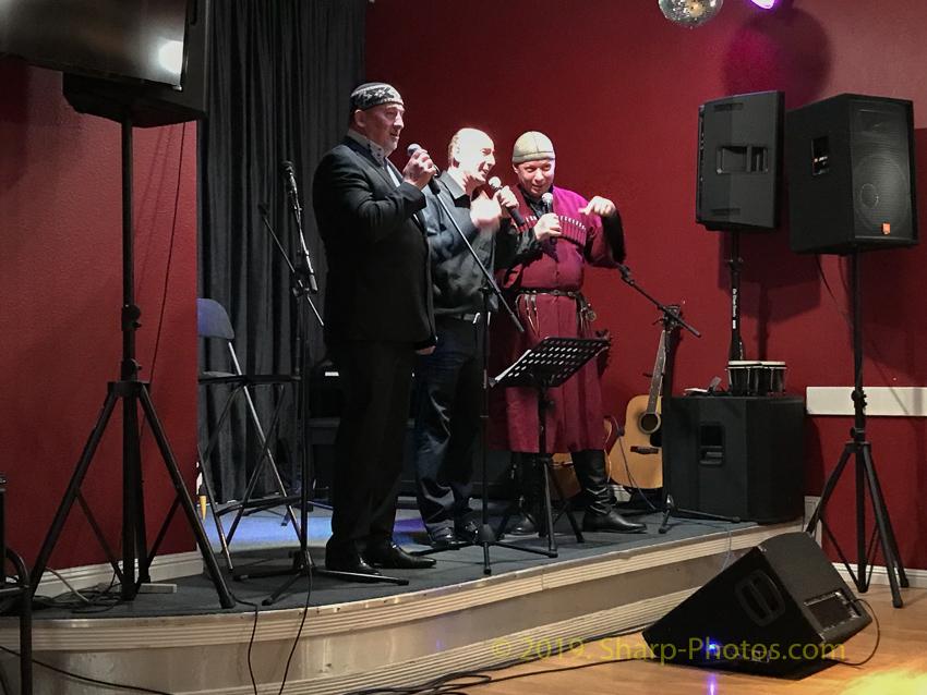Калифорнийская Грузия. Концерт в клубе Самовар