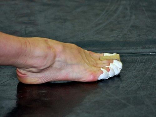 Как выглядят ноги у балерин без пуантов