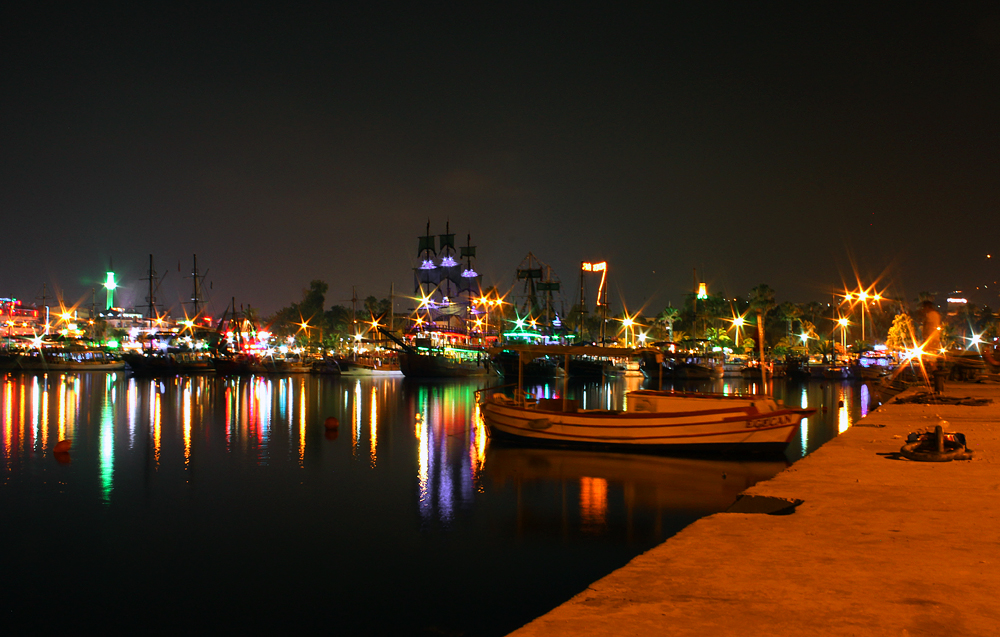 Алания, порт.