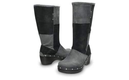 Women-Black-and-Black-Womens-Crocs Cobbler Studded Boot-_12312_060_ALT110