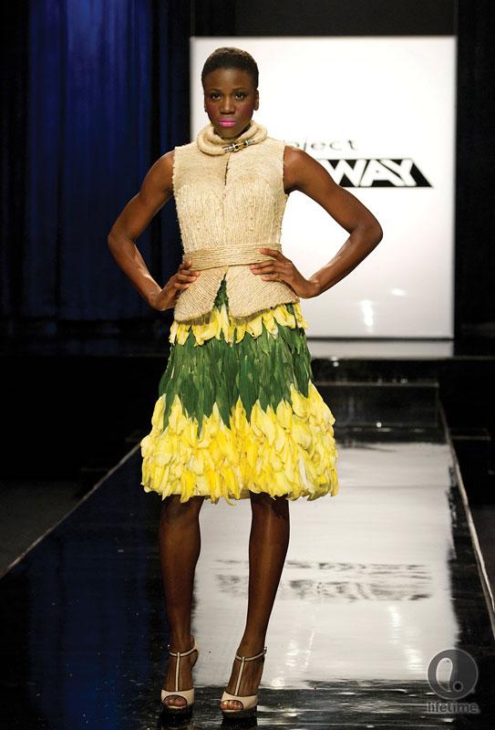 шифоновая юбка полусолнце фото