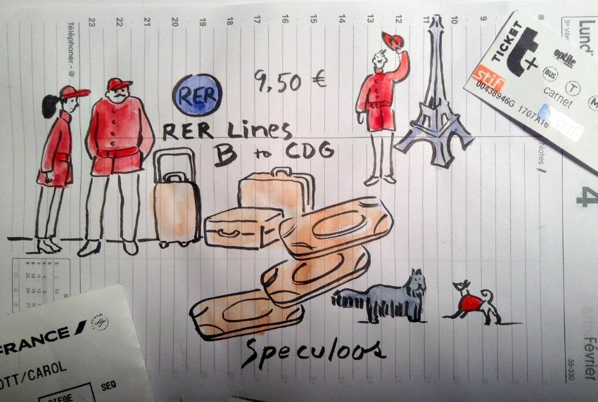 1 RER Paris CDG