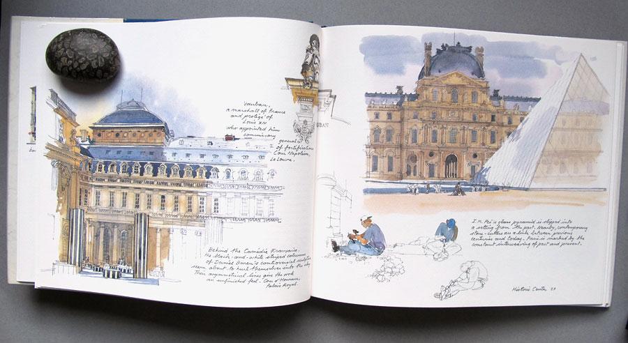 Paris sketchbook купить