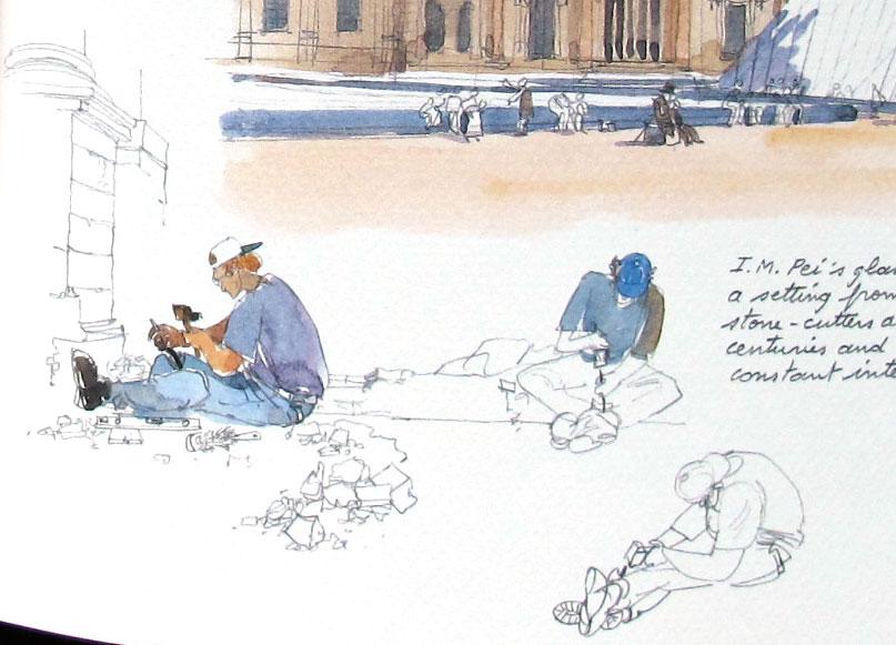 Рисунки для скетчбука