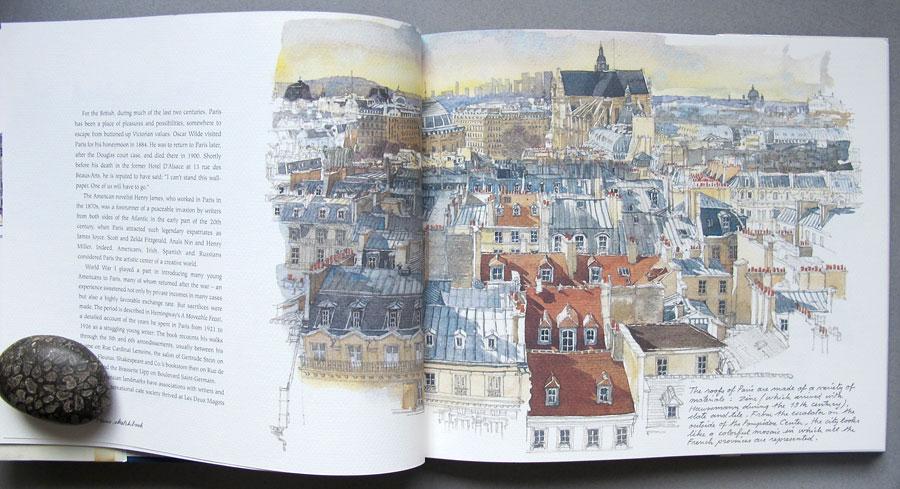 Крыши Парижа книга