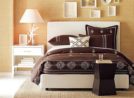как красиво заправить кровать фото