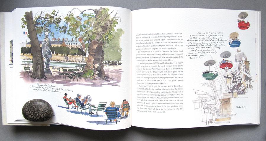 Sketch books for architecture