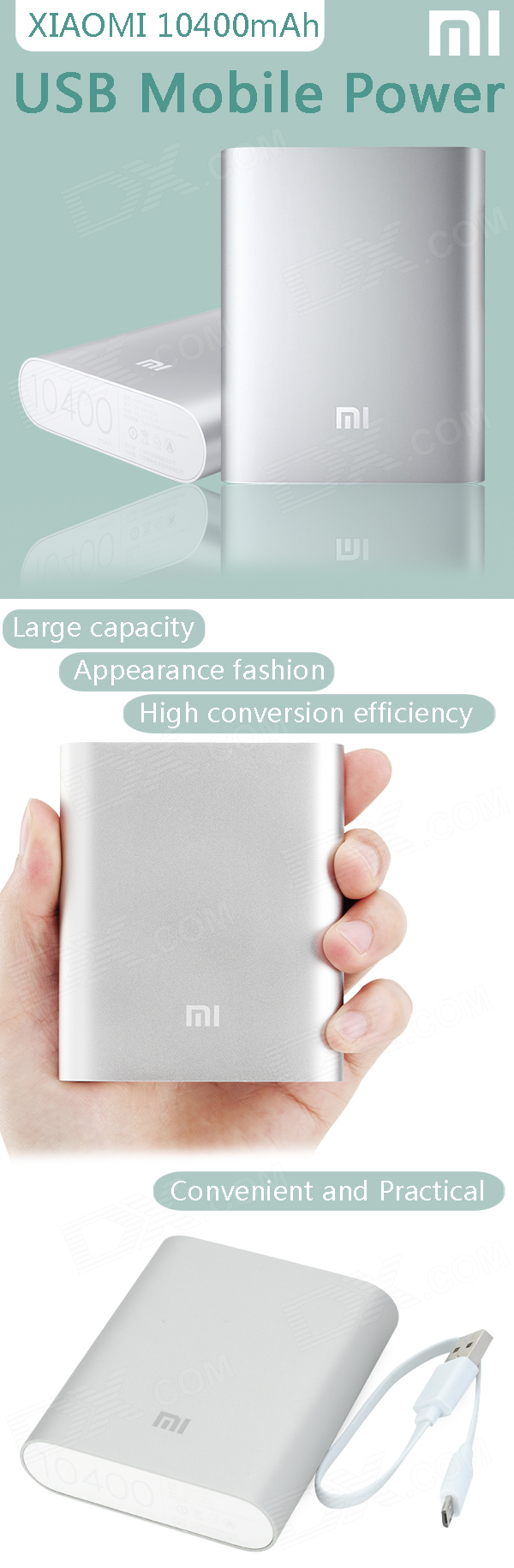 PowerBank XIAOMI 10400mAh 002