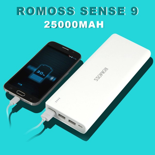 ROMOSS Sense 9 25000mAh PHA0 Power Bank