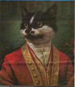 кот в ливрее