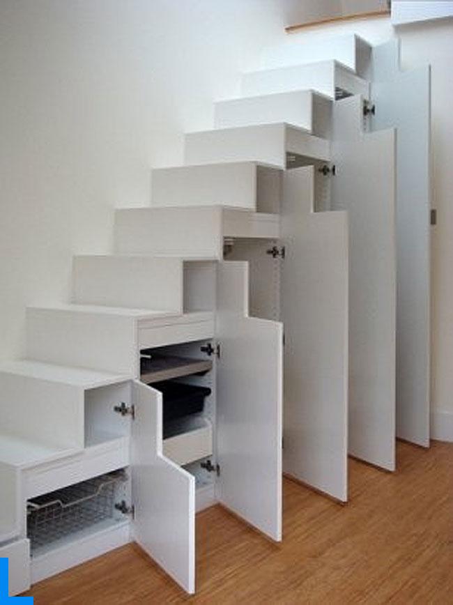 Лестница шкаф фото