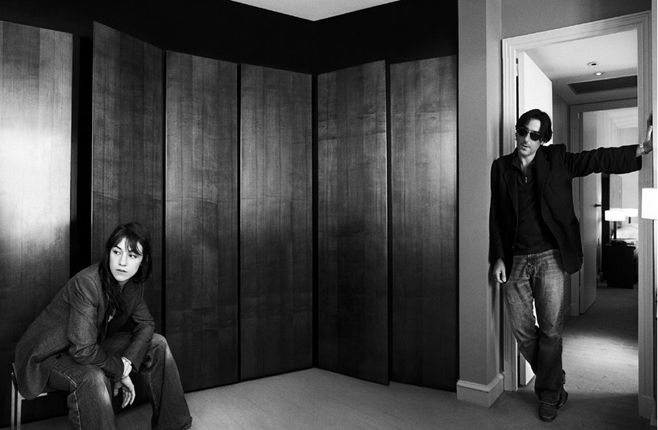 3202 Charlotte Gainsbourg and Yvan Attal Photo by Antoine Le Grand