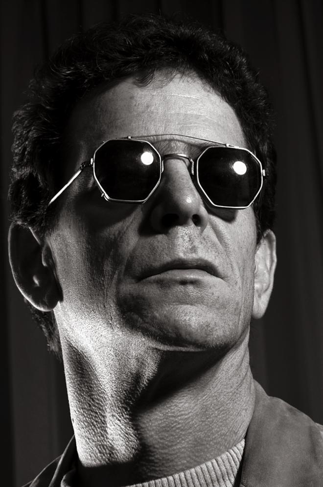 4103 Lou Reed 1992 Photo by Gottfried Helnwein