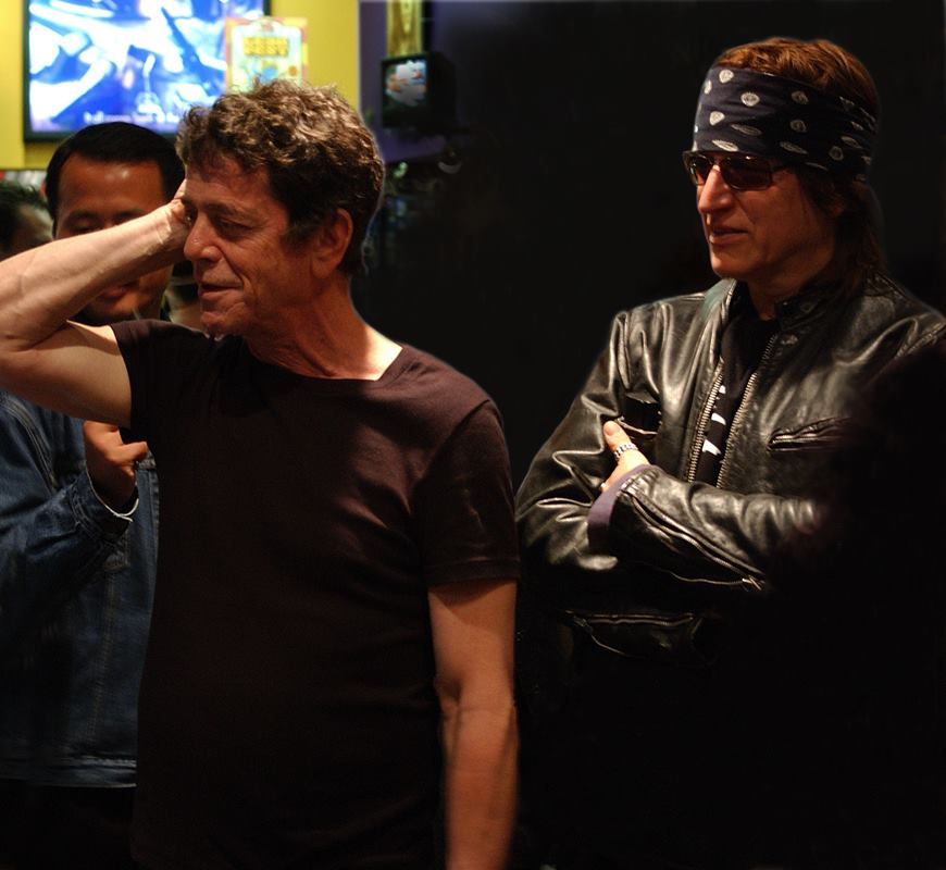 4115 Lou Reed and Gottfried Helnwein 2003