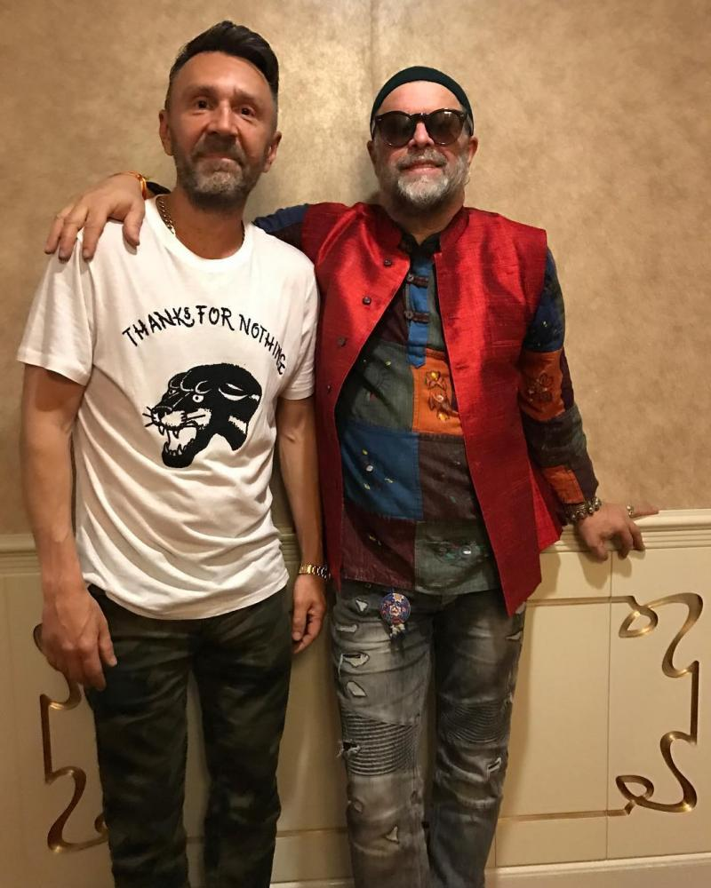 4149 Sergey Shnurov and Boris Grebenschikov