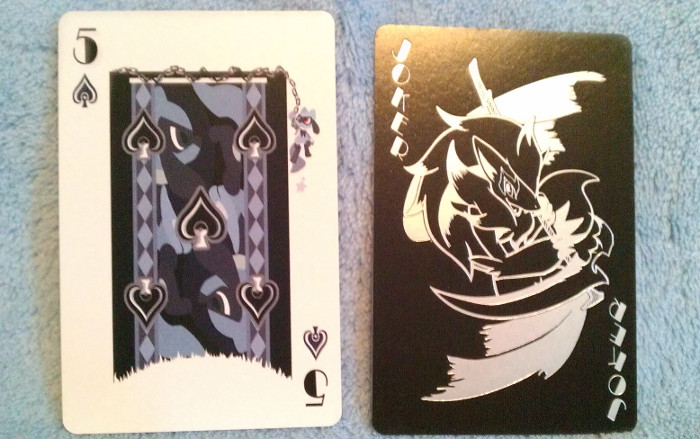 Poker Cards Riolu & Zoroark