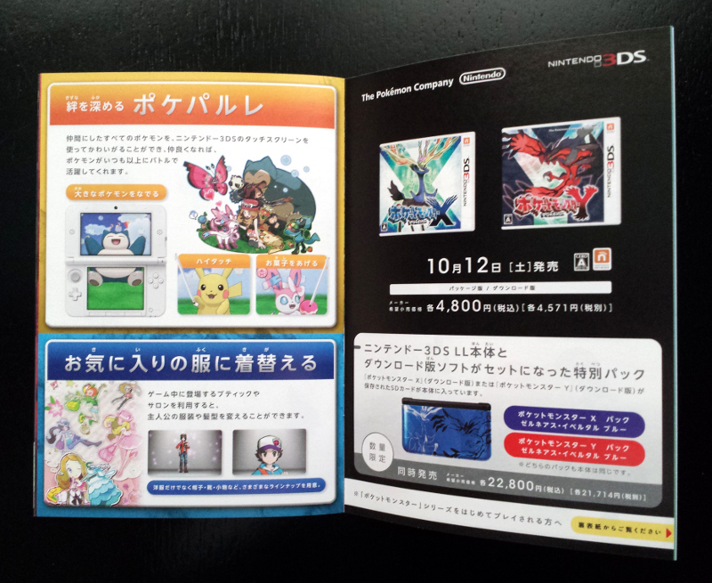 XY Booklet Page 2