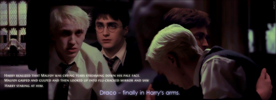 Draco - finally in Harry's arms