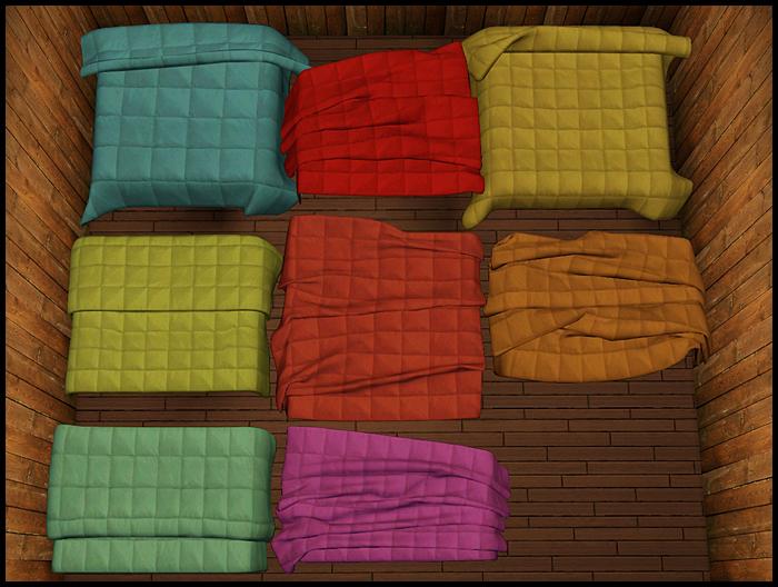 Empire Sims 3 Bedding Set By Ritsuka S Ts3