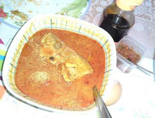 The famous Kari kepala ikan! (Siap ada sambal belacan & kicap lagi)
