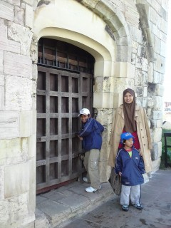 Shortly after, the door was locked....and Iman trying to open the door